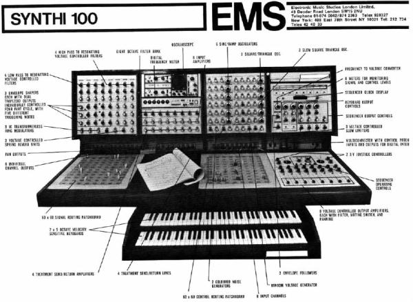EMS Synthi 100. Фото №2.