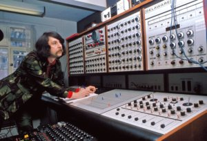 EMS Synthi-100. DELAWARE in BBC Studio.